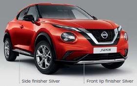 Nissan Juke Silver Pack