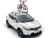 Qashqai with Bike Carrier